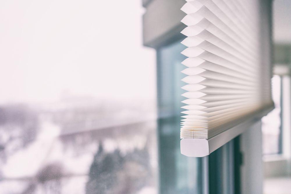 Plissee Fenster
